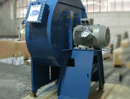 Centrifugal fans for painting booths