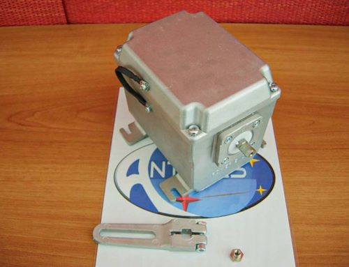 Servomotor for submerged burner