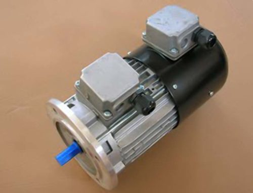 Servo ventilated motor for driving unit