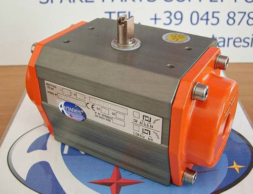 Rotating pneumatic actuators ALPHAIR