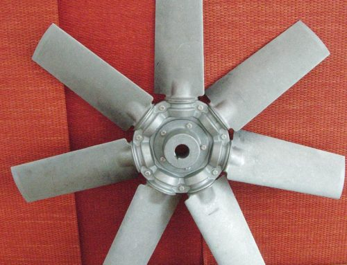 Aluminum fan with adjustable 7 blades
